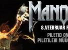 Heavy metal'i kuningas Manowar esineb 8. veebruaril Eestis